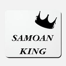Samoan King Mousepad