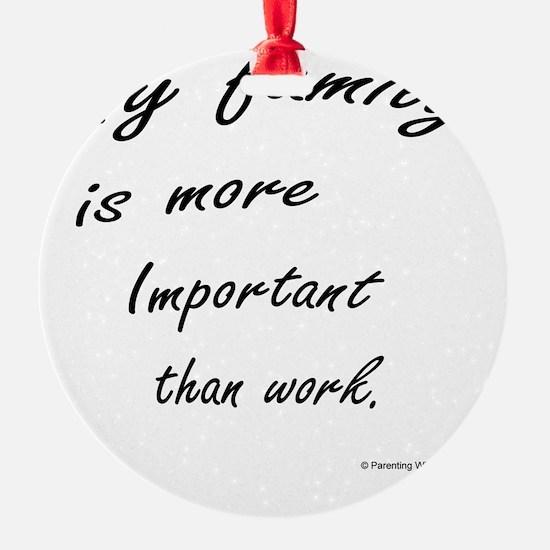 Workaholics Ornament