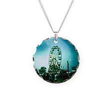 Roo Ferris Wheel Necklace Circle Charm