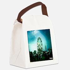 Roo Ferris Wheel Canvas Lunch Bag
