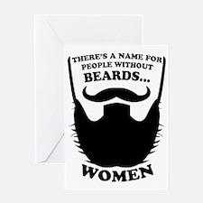 Beard Humorous Greeting Card