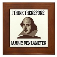 shakespeare-01 Framed Tile