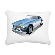 British Classic Muscle Rectangular Canvas Pillow