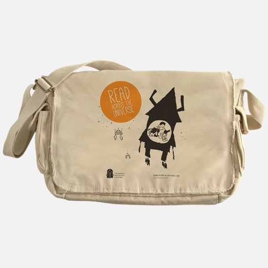 Read Across the Universe - undated Messenger Bag