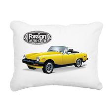 British Midget-FAC Rectangular Canvas Pillow