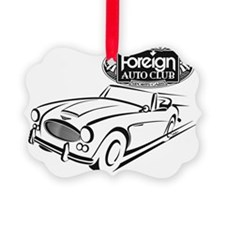 British Classic Muscle-FAC BW Ornament