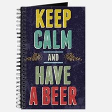 Keep Calm And Have A Beer Journal