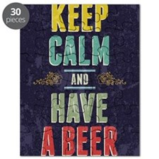 Keep Calm And Have A Beer Puzzle