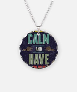 Keep Calm And Have A Beer Necklace
