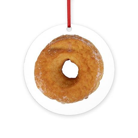 Glazed Donut Ornament (Round)