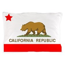 California Republic State Flag Pillow Case