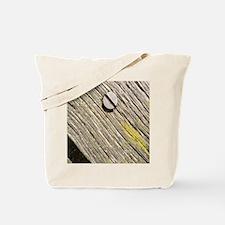 Nailed Down Driftwood Tote Bag