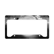 Wolf Pack License Plate Holder