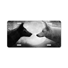 Wolf Pack Aluminum License Plate