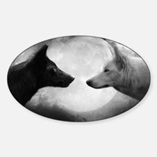 Wolf Pack Sticker (Oval)