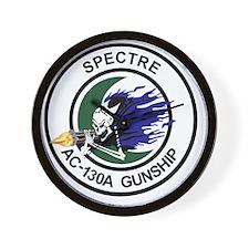 AC-130A Spectre Gunship Wall Clock
