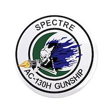"""AC-130H Spectre Gunship 3.5"""" Button"""