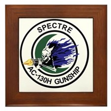 AC-130H Spectre Gunship Framed Tile