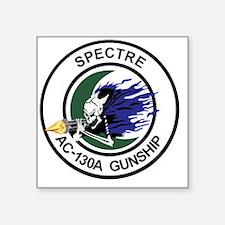 "AC-130A Spectre Gunship Square Sticker 3"" x 3"""