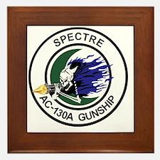 AC-130A Spectre Gunship Framed Tile