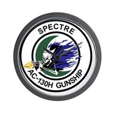 AC-130H Spectre Gunship Wall Clock