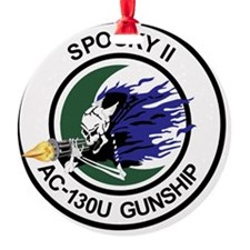 AC-130U Spooky II Gunship Ornament