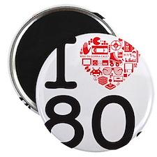 I Heart 80's Magnet