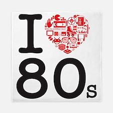 I Heart 80's Queen Duvet
