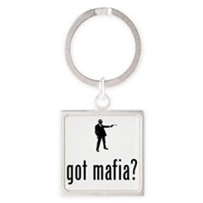 Mafia-02-A Square Keychain