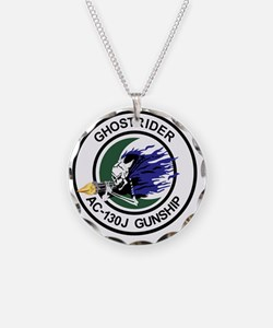 AC-130J Ghostrider Gunship Necklace