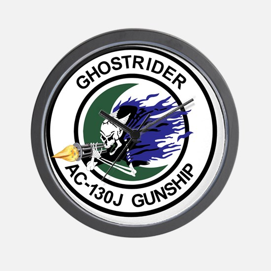 AC-130J Ghostrider Gunship Wall Clock