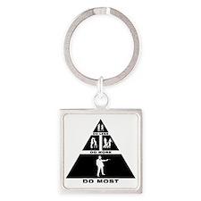 Mafia-11-A Square Keychain