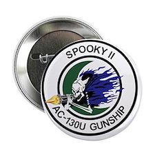 "AC-130U Spooky II Gunship 2.25"" Button"