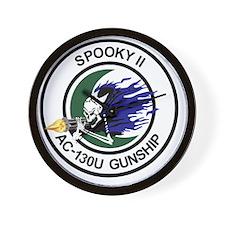AC-130U Spooky II Gunship Wall Clock