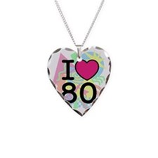 I Heart 80's Necklace