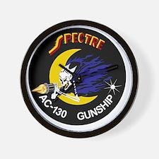 AC-130 Spectre Gunship Wall Clock