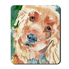 Golden Cocker Spaniel - Mousepad