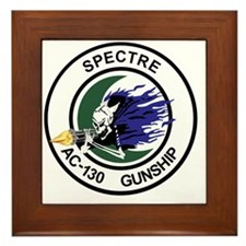 AC-130 Spectre Gunship Framed Tile