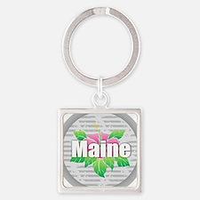 Maine Hibiscus Keychains