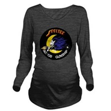 AC-130 Spectre Gunsh Long Sleeve Maternity T-Shirt
