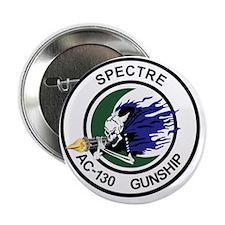 """AC-130 Spectre Gunship 2.25"""" Button"""