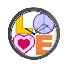 Love Art Wall Clock