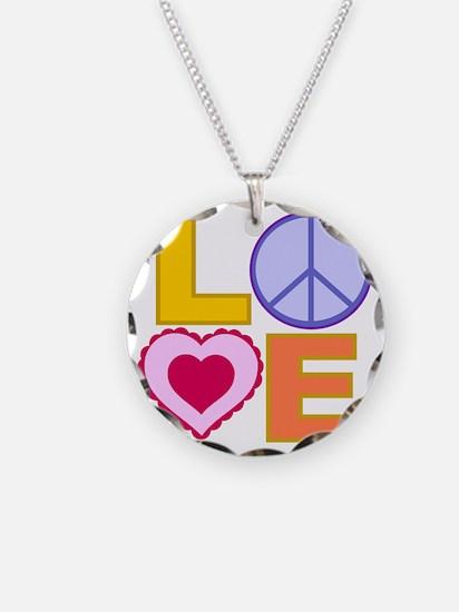 Love Art Necklace