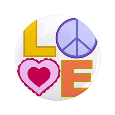 "Love Art 3.5"" Button"