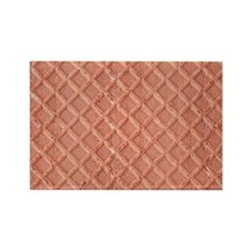 Chocolate Waffle Cookie Rectangle Magnet