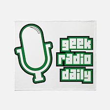 GRD main logo Throw Blanket