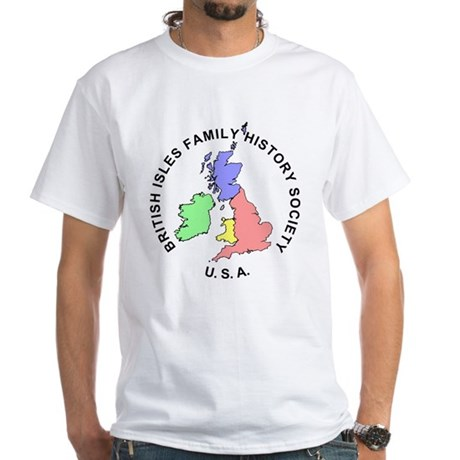 BIFHS-USA White T-Shirt