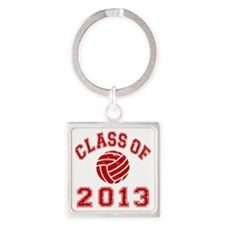 Class Of 2013 Volleyball Square Keychain