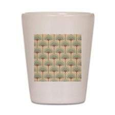 Vintage Art Deco Abstract Shot Glass