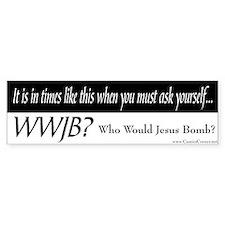 WWJB? - Bumper Bumper Sticker